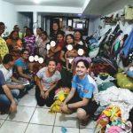 Técnicos da REPAM e CNBB N2 visitam venezuelanos refugiados em Belém