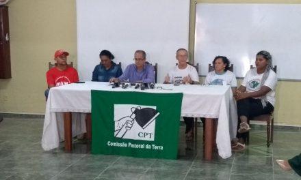 """""""Não há provas que sustentem as acusações de práticas de crime imputadas ao pe. Amaro"""", disse o advogado José Batista Afonso, em coletiva de imprensa."""