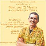 Programação do Seminário do Laicato terá show de Zé Vicente e cantores da terra.