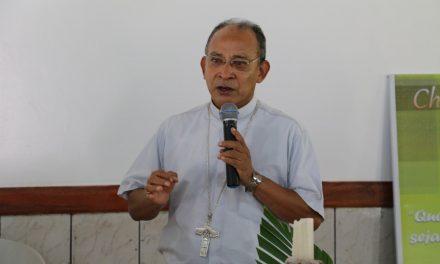 Parabéns ao Bispo de Abaetetuba