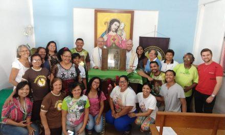 Relíquia de São Francisco de Assis visita sede da CNBB Norte 2