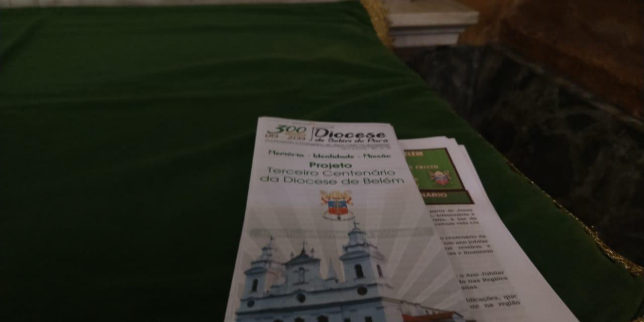 Belém celebra 300 anos de instalação da Diocese