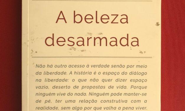 """Belém recebe apresentação do livro """"A Beleza Desarmada"""", de Júlian Carrón"""