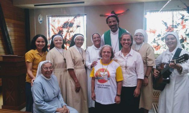 Religiosas do Marajó em encontro com Dom Teodoro