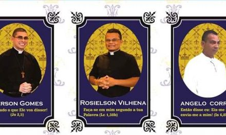 Três novos Diáconos para a Igreja no Amapá