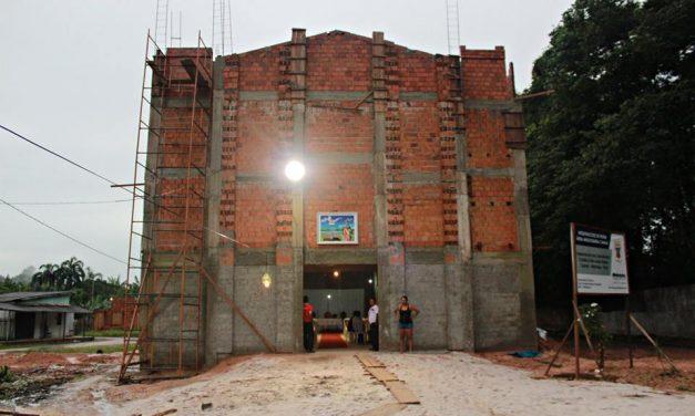 Área Missionária recebe nova Capela