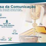 Pascom de Santarém realizará missa da Comunicação.