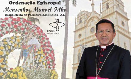 Diocese de Bragança convida para Ordenação Episcopal de Monsenhor Manoel Filho