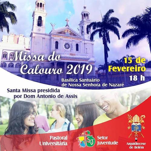 Pastoral Universitária promove Missa com Calouros