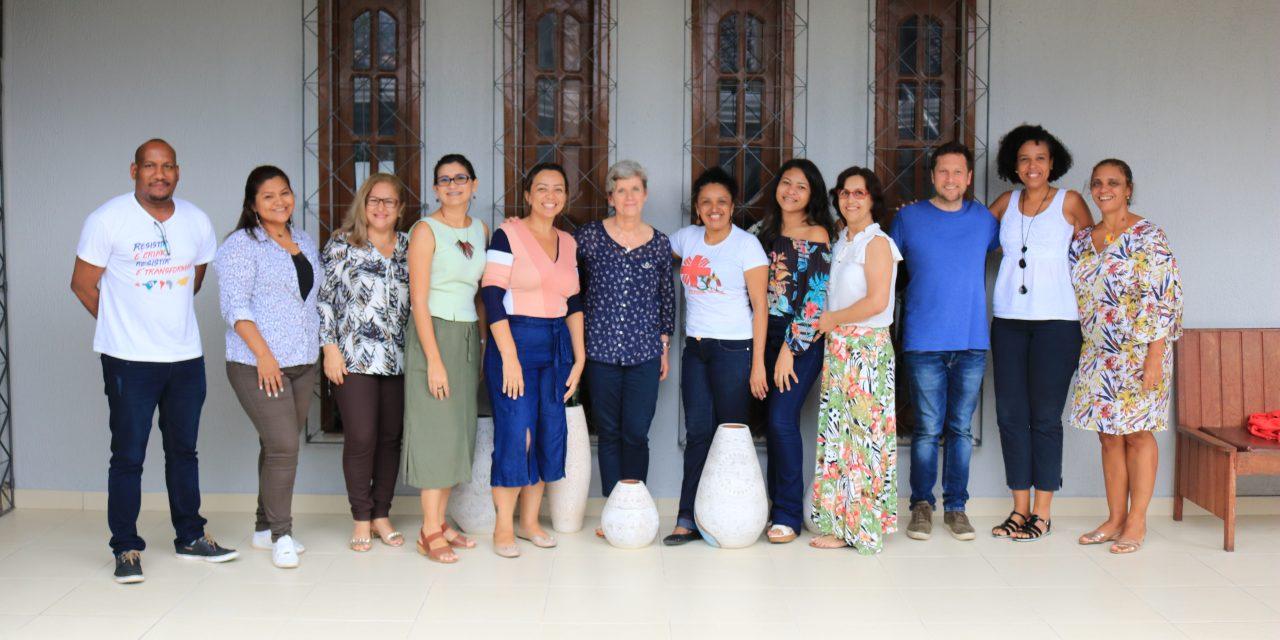 Cáritas se reúne para planejamento do projeto Ação e Proteção.