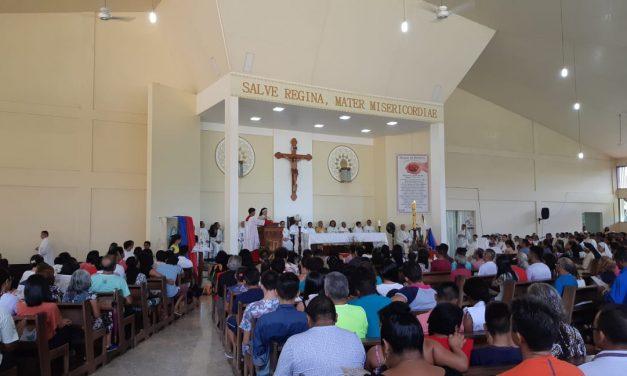 Diocese de Ponta de Pedras realiza peregrinação a Santuário Mariano