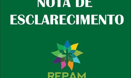 Nota de Esclarecimento da REPAM