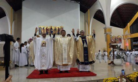 Três novos padres para a Igreja no Amapá