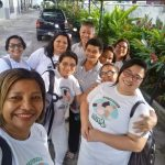 Sessões de massoterapia na CNBB