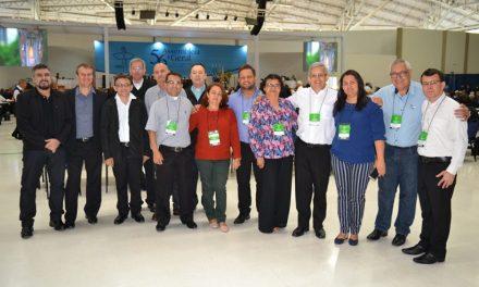 Em Curitiba, Cristiane Araújo participa da Reunião dos secretários-executivos da CNBB.