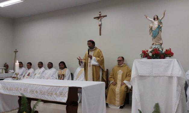 Seminaristas de Ponta de Pedras celebram padroeira e recebem ministério
