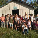 Dom João Muniz propaga o Sínodo Pan-Amazônico em Visitas Pastorais no Xingu