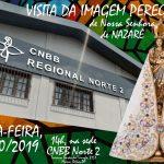 Lideranças de Pastorais e Organismos estudam Diretrizes e recebem Imagem Peregrina de Nossa Senhora de Nazaré
