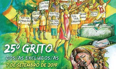 Pastorais e Movimentos Sociais convocam para o 25° Grito dos Excluídos