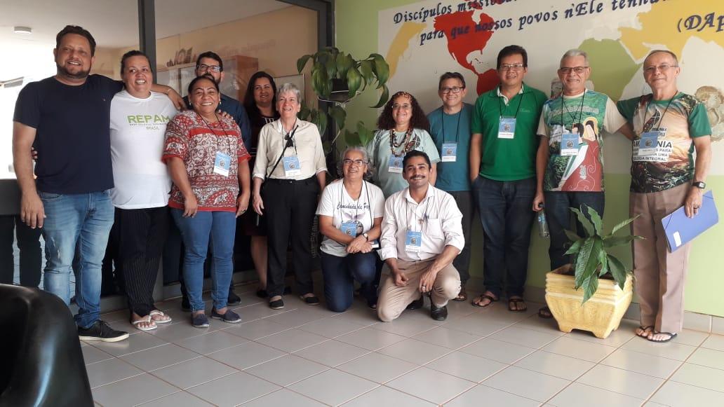 Representantes do Regional Norte 2 participam de capacitação sobre a Campanha da Fraternidade 2020, em Brasília