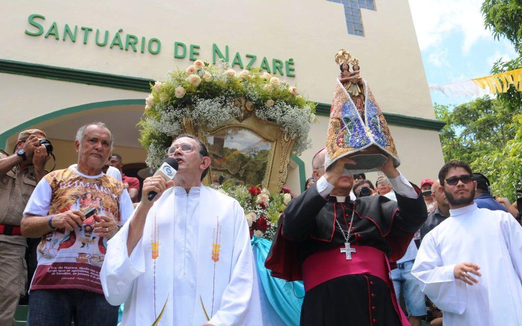 Romaria de Nossa Senhora de Nazaré clama por Igreja próxima e iluminadora da juventude, das famílias e periferias