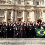 Formadores de Seminários do Regional Norte 2 participam de curso em Roma