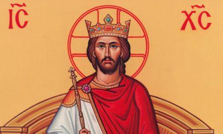 34º Domingo do Tempo Comum: Solenidade de Jesus Cristo, Rei do Universo