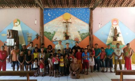Dom Bernardo Bahlmann visita Missão Tiriyó