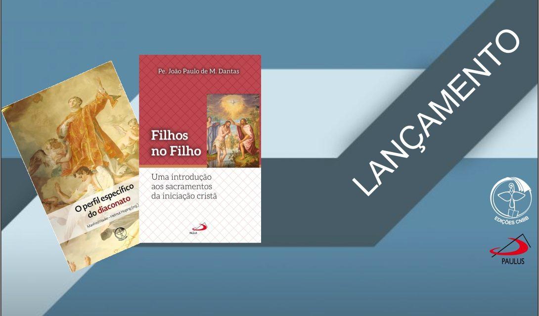 Livros sobre Sacramentos da Iniciação à Vida Cristã e Diaconato Permanente são lançados em Belém