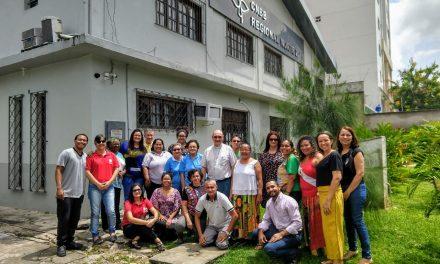 Bispo eleito da nova Prelazia do Alto Xingu, Dom Jesús María Mauleón, visita sede da CNBB Norte 2