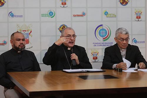 """Arquidiocese de Belém realiza coletiva de imprensa sobre a Exortação Apostólica """"Querida Amazônia"""""""