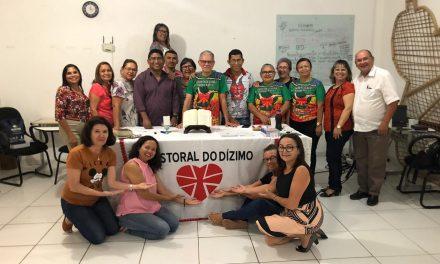 Pastoral do Dízimo realiza primeira Escola de Formação de Lideranças do Regional Norte 2: