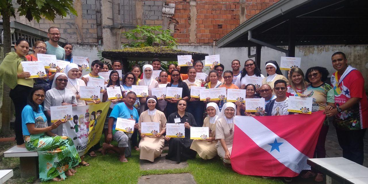 Infância e Adolescência Missionária (IAM) realiza curso de assessores multiplicadores