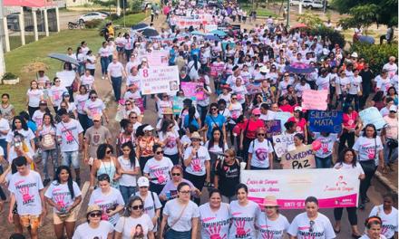 Diocese de Marabá participa de Marcha das Mulheres
