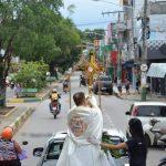 Traslado em automóvel com Jesus Eucarístico percorre ruas em Marabá/PA