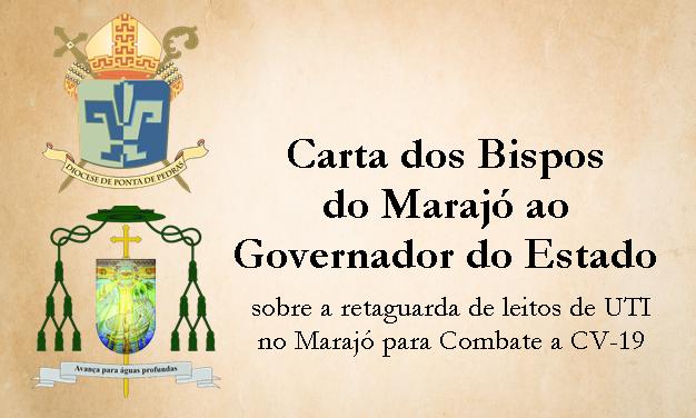 Bispos do Marajó manifestam preocupação com o avanço da COVID-19 e sugerem novo Hospital de Campanha ao Governo do Estado