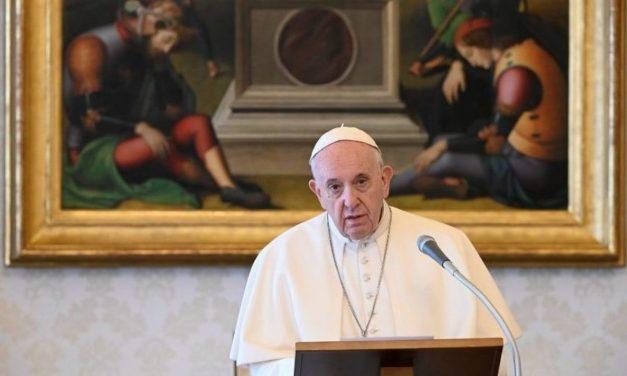 O Papa: olhar confiante mesmo para os acontecimentos mais difíceis da nossa vida
