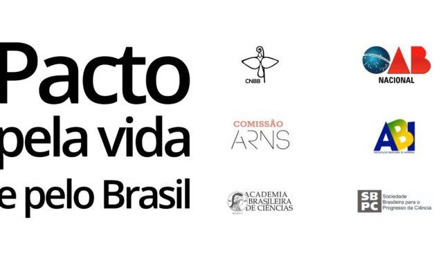 CNBB une-se a cinco organizações da sociedade civil e assina pacto pela vida e pelo Brasil