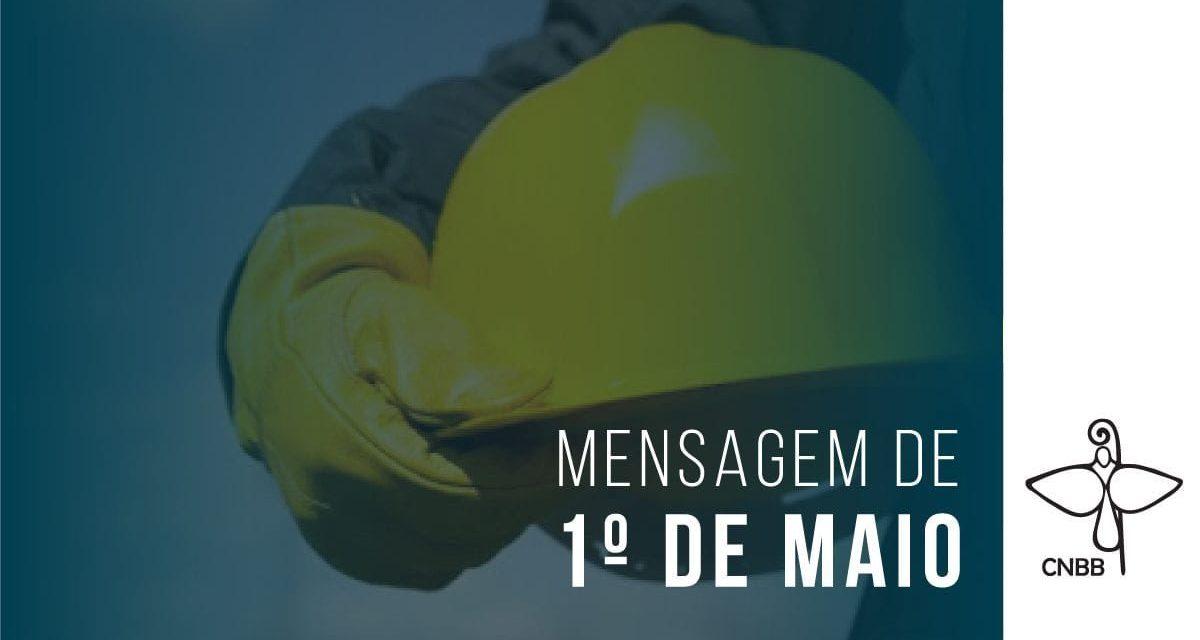 """CNBB lança nota aos Trabalhadores do Brasil: """"Criados à imagem e semelhança de Deus, temos, na nossa essência, a vocação para o trabalho"""""""