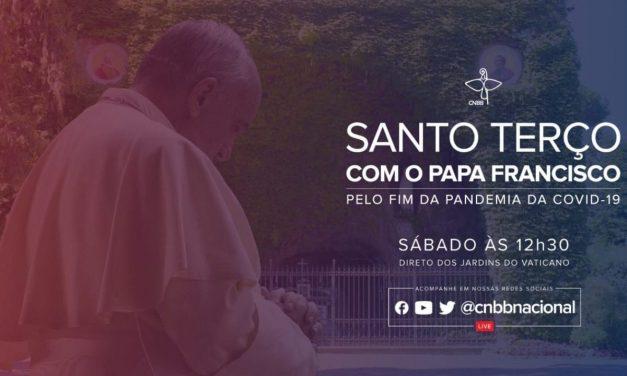 Papa rezará o terço para pedir a intercessão de Maria no enfrentamento da pandemia