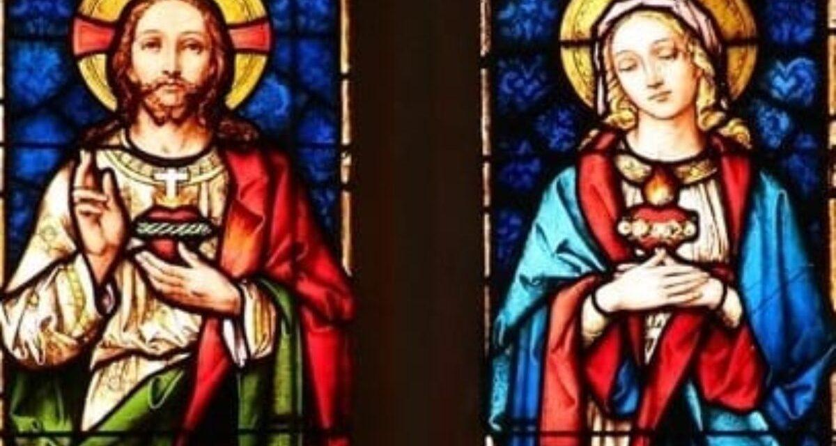 Igreja celebra o Sagrado Coração de Jesus e o Imaculado Coração de Maria