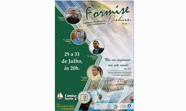 1ª Formação Missionária Online para Seminaristas – Regional Norte II