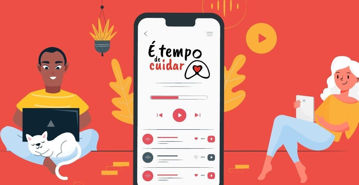 """Campanha """"É tempo de cuidar"""" lança série de áudio-reportagens sobre a iniciativa solidária que já atendeu mais de 500 mil pessoas"""