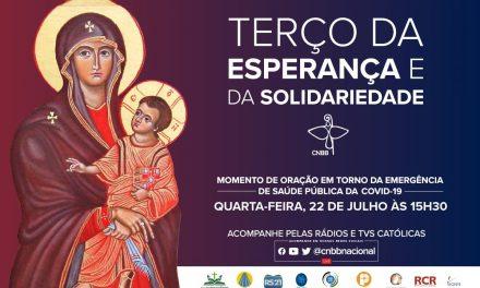 Terço da Esperança e da Solidariedade de hoje diretamente da Catedral de Belém