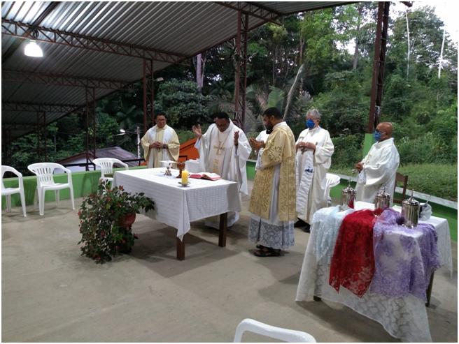 Missa dos Santos Óleos na Diocese do Xingu