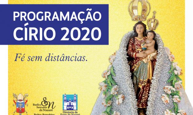 Fé Sem Distâncias: Círio de Nazaré em Belém tem procissões canceladas e programação adaptada
