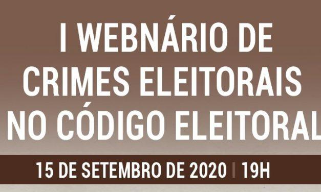 CNBB Norte 2 em parceria pelo I Webnário sobre crimes eleitorais