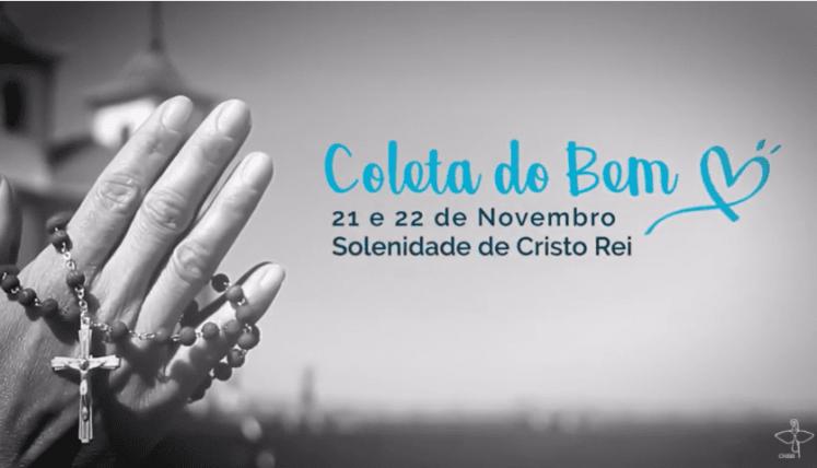 Em mensagem aos cristãos católicos do Brasil, secretário-geral e secretário de campanhas da CNBB convidam ao gesto concreto da Coleta do Bem