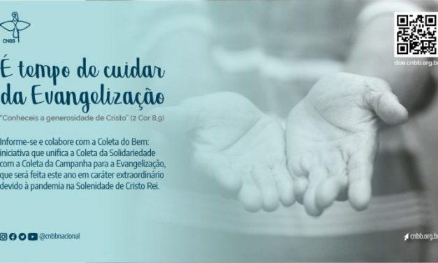 """Conheça a Campanha """"É tempo de cuidar da Evangelização"""", realizada pela Igreja do Brasil durante o mês de novembro"""