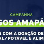 """Campanha """"SOS Amapá"""" arrecada água mineral e alimentos para o Amapá"""